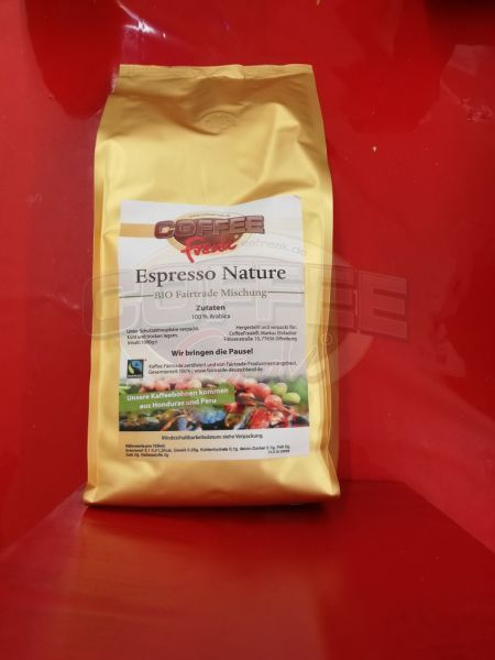 CoffeeFreak® Espresso Nature Bio Fair Trade